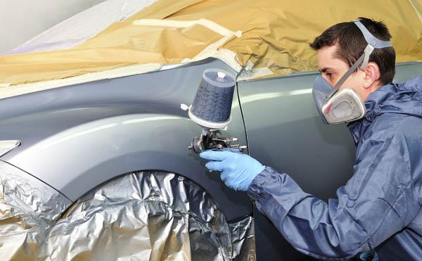 Покраска частичная автомобиля своими руками 61