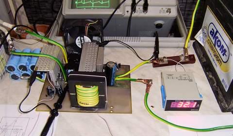 Как сделать зарядку аккумулятора автоматической