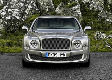 Bentley Mulsanne 2012 года